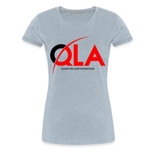 quantum leap advantage QLA - Women's Premium T-Shirt