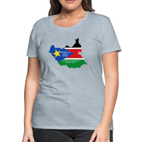 south sudan 10th years anniversary - Women's Premium T-Shirt