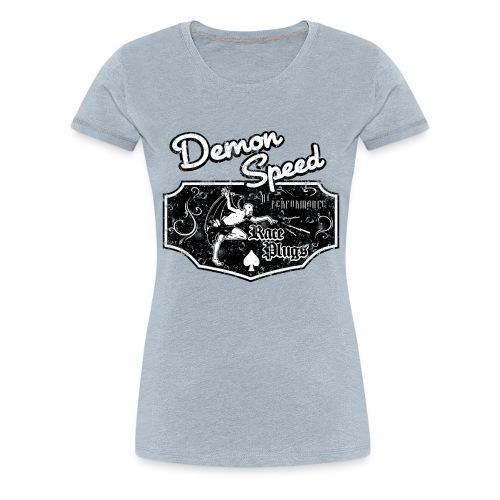 Demon Speed - Women's Premium T-Shirt