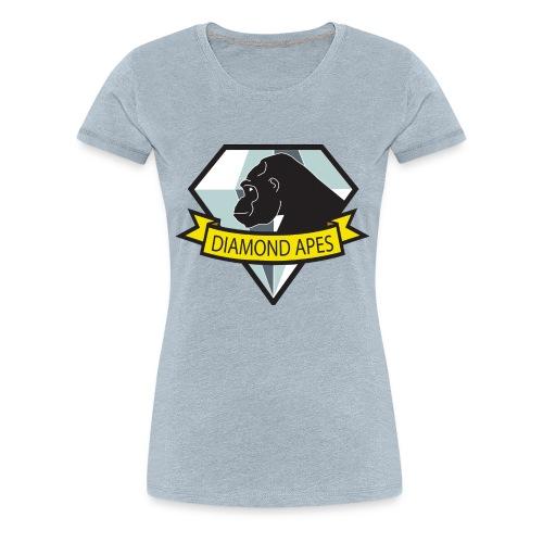 diamondape - Women's Premium T-Shirt