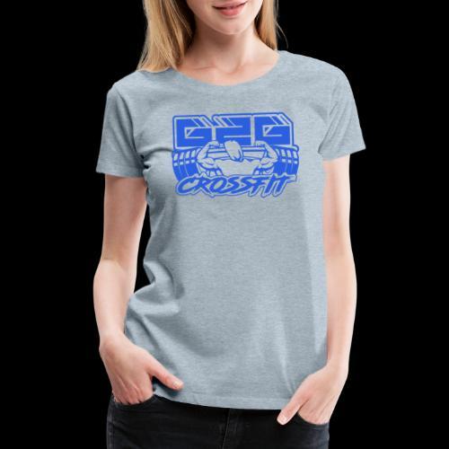 Ocean Blue Full G2G Logo - Women's Premium T-Shirt