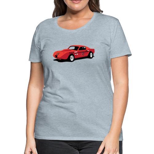 Vintage Hill Climb Race Car - Women's Premium T-Shirt