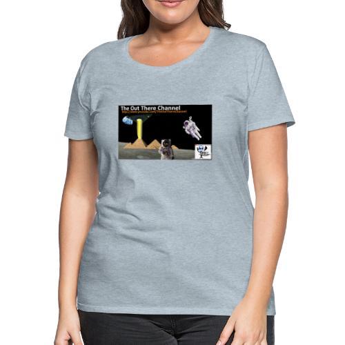 UFO Pyramids2019 TheOutThereChannel - Women's Premium T-Shirt