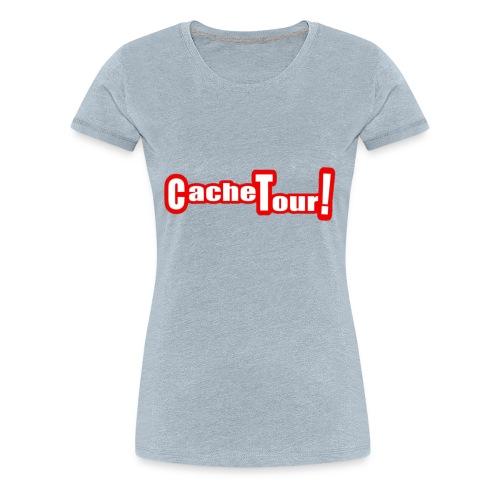 Cache Tour T-shirt! - Women's Premium T-Shirt