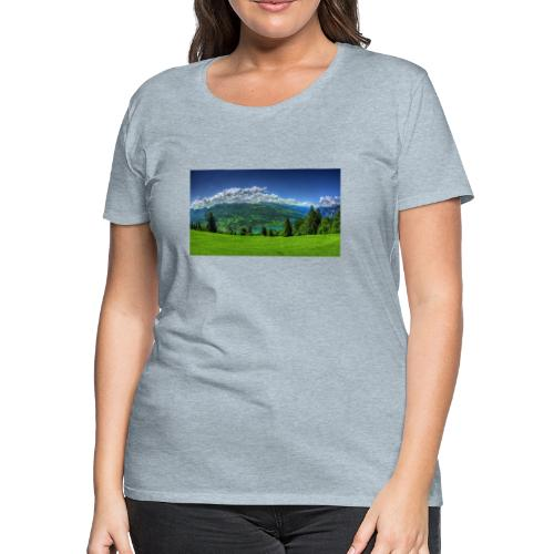 Nature Design - Women's Premium T-Shirt