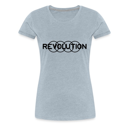 Revolution Black Logo - Women's Premium T-Shirt