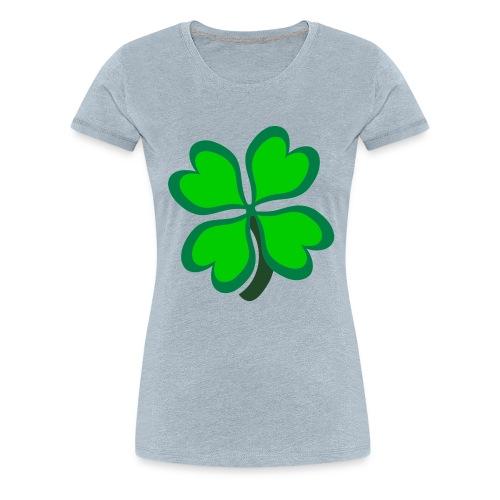 4 leaf clover - Women's Premium T-Shirt