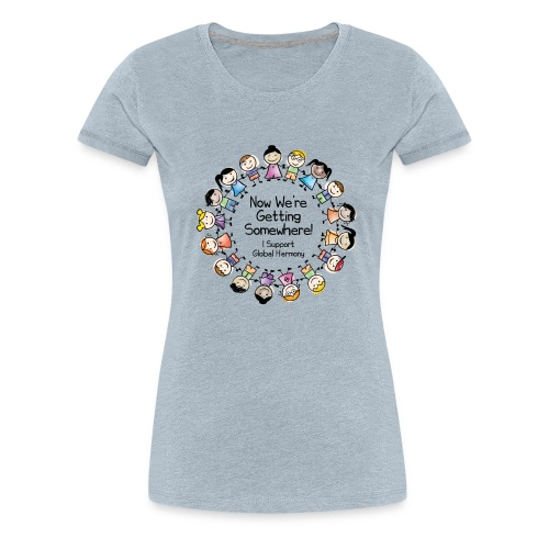 TShirtHarmonyFull by You'll Wear Me Out - Women's Premium T-Shirt