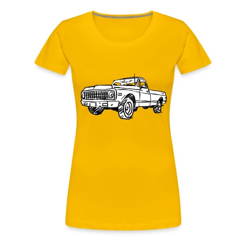 Old Chevy Pickup - Women's Premium T-Shirt