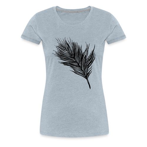 Delicate Feather - Women's Premium T-Shirt