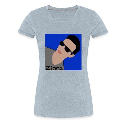 Zionz_Cartoon - Women's Premium T-Shirt