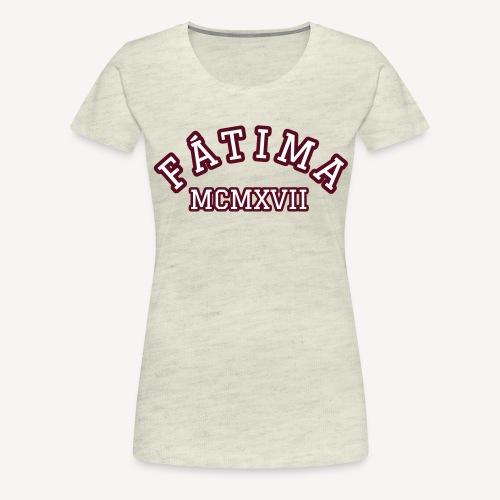 FATIMA MCMXVII - Women's Premium T-Shirt