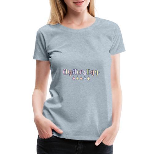 Clyster Egg - Women's Premium T-Shirt