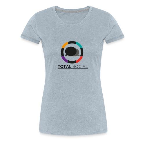 Logo_Total_Social_PNG_03 - Women's Premium T-Shirt