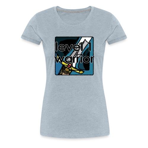 Warcraft Baby: Level 1 Warrior - Women's Premium T-Shirt