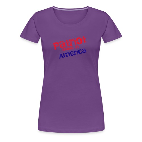 Patriot mug - Women's Premium T-Shirt
