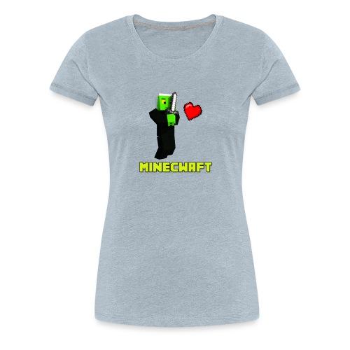 MINECWAFT ZGW - Women's Premium T-Shirt