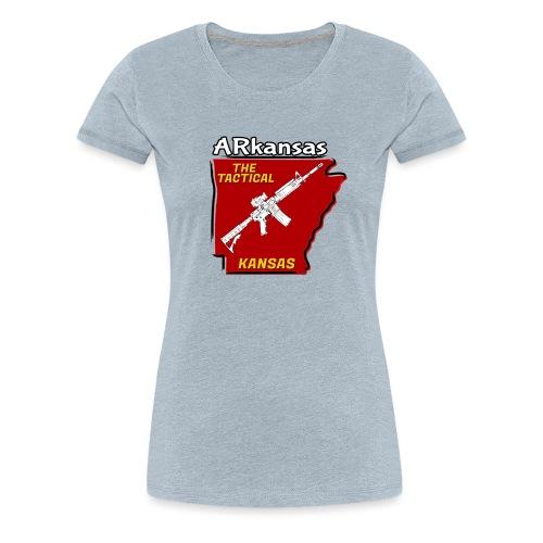 Tactical Kansas - Women's Premium T-Shirt