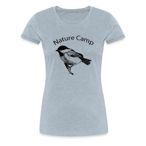 Nature Camp Chickadee - Women's Premium T-Shirt