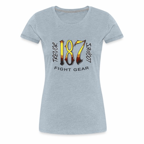 Coloured Trevor Loomes 187 Fight Gear Logo - Women's Premium T-Shirt