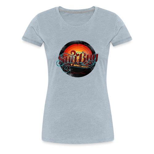 Large SunBug Logo distressed - Women's Premium T-Shirt