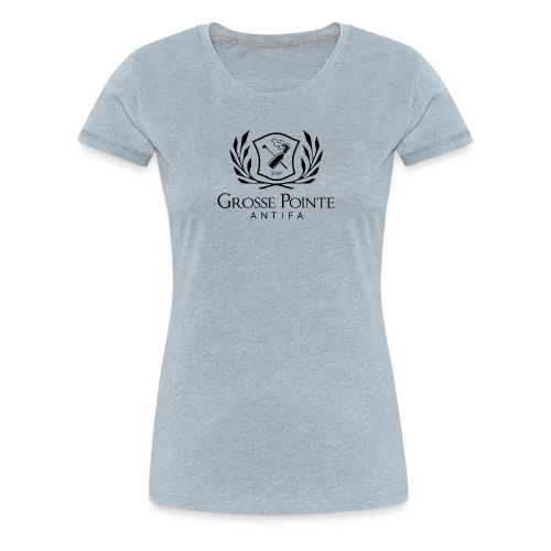 Grosse Pointe Antifa symbol - Women's Premium T-Shirt