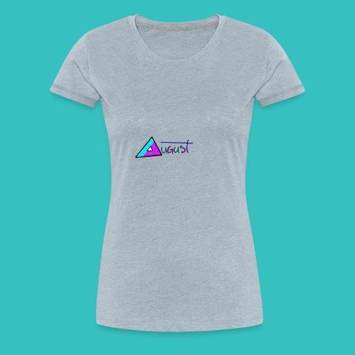 august aquapurp whiteout collection - Women's Premium T-Shirt