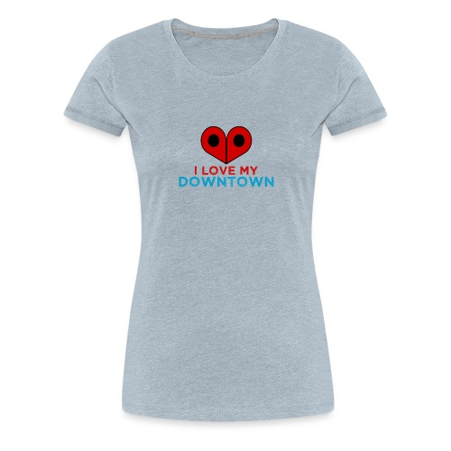 HeartDowntown - Women's Premium T-Shirt