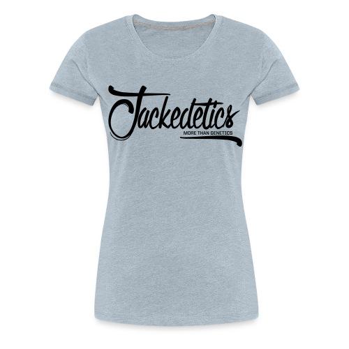 Jackedetics Cursive - Women's Premium T-Shirt