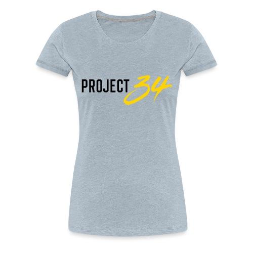 Project 34 - Pittsburgh - Women's Premium T-Shirt