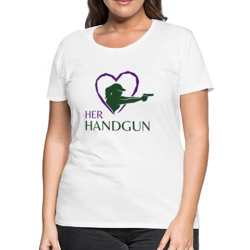 Official HerHandgun Logo - Women's Premium T-Shirt