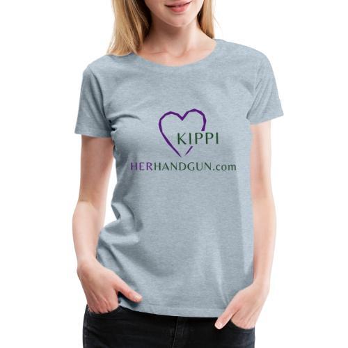 HerHandgun Logo for Kippi ONLY! - Women's Premium T-Shirt