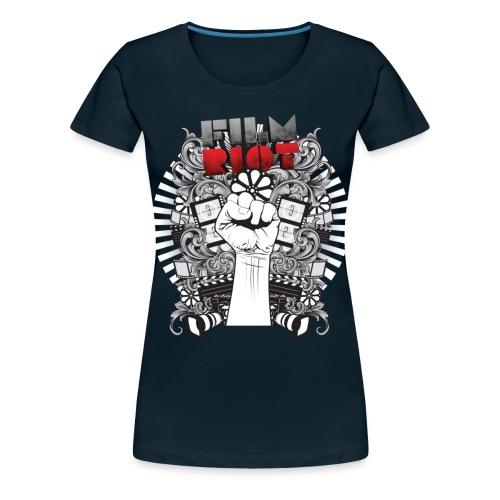 Film Riot - Women's Premium T-Shirt