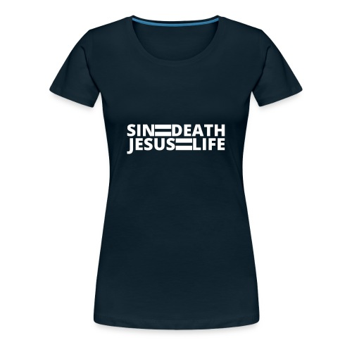 Romans 6:23 - Women's Premium T-Shirt