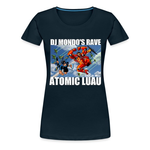 DJ Mondo' Rave: Fall of the Heroes - Women's Premium T-Shirt