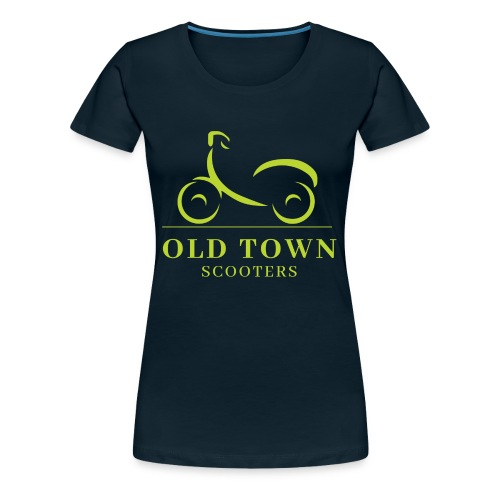 Old Town Scooters T-shirt - Women's Premium T-Shirt