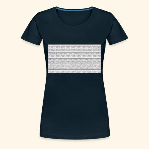 SLICK SLACK POLY'S ON THE BACK - Women's Premium T-Shirt