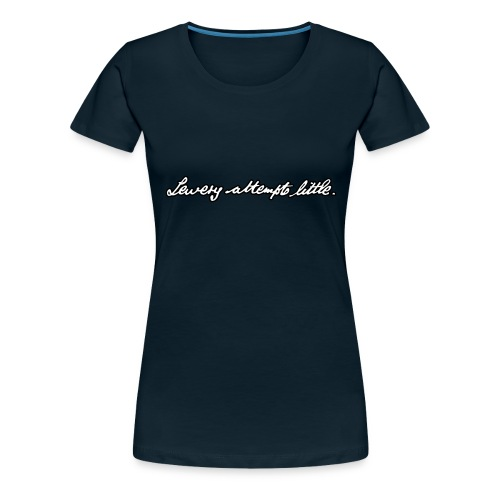 Lewery Attempts Little - Women's Premium T-Shirt