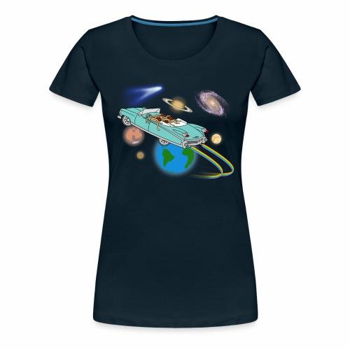 halleyscomet - Women's Premium T-Shirt