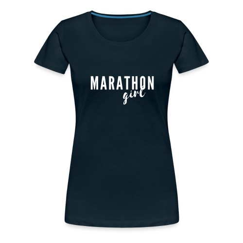 Marathon Girl - Women's Premium T-Shirt