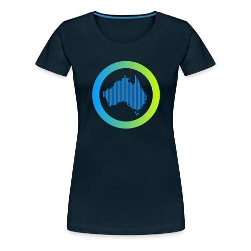 Gradient Symbol Only - Women's Premium T-Shirt