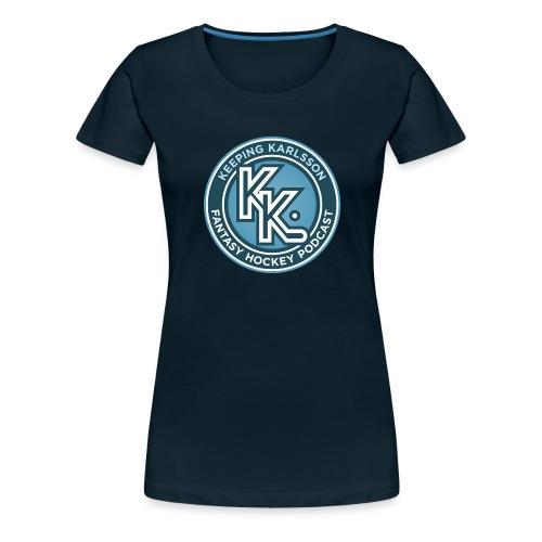 Keeping Karlsson Circle Logo - Women's Premium T-Shirt