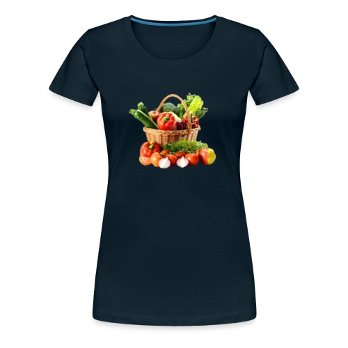 Vegetable transparent - Women's Premium T-Shirt