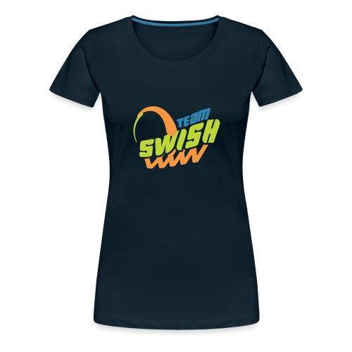 TeamSwish logo2 20 - Women's Premium T-Shirt