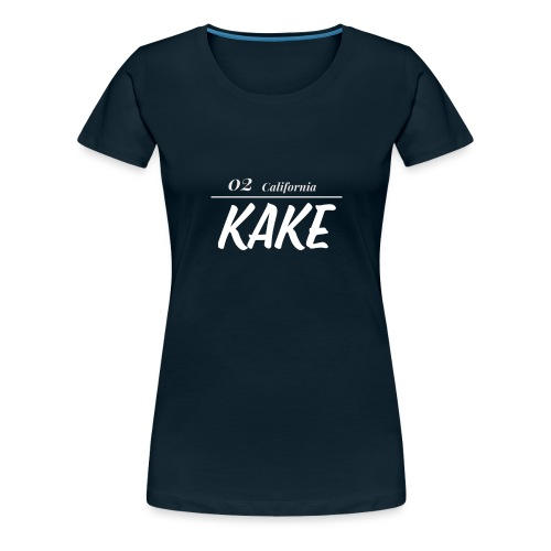 02 California KaKe - Women's Premium T-Shirt