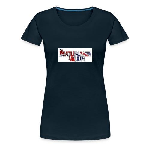 Beatlemania Again Tour Merchandise - Women's Premium T-Shirt