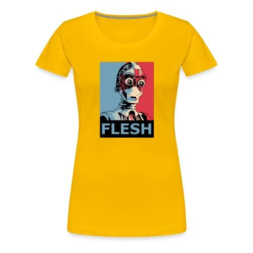 FLESH - Women's Premium T-Shirt