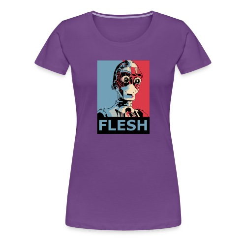 FLESH - Women's Premium T-Shirt