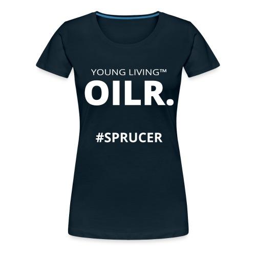 OILR Large - Women's Premium T-Shirt