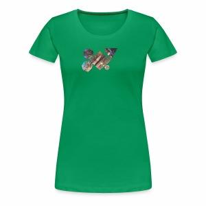 drum shapes - Women's Premium T-Shirt